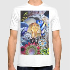 Modern Nature Mens Fitted Tee White SMALL