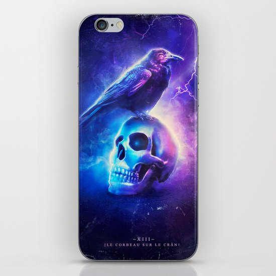 Le Corbeau iPhone & iPod Skin