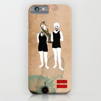 iPhone & iPod Case featuring Swimmers by Urška Hočevar