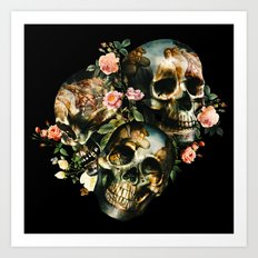 Skull & Venus Art Print