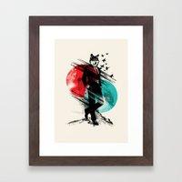 Wolfman Framed Art Print