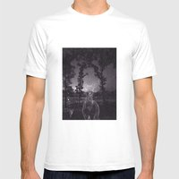 Wakarusa Mens Fitted Tee White SMALL