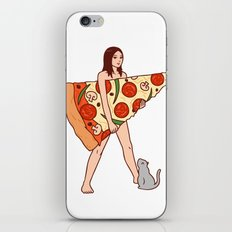Play The Pizza iPhone & iPod Skin