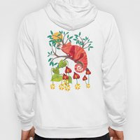 The Red Chameleon  Hoody
