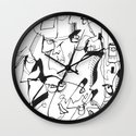 Sweet Confusion Wall Clock