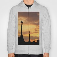 A sunset in Paris Hoody
