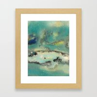 Postcards From Pluto 2 Framed Art Print