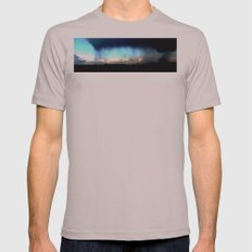 Cave from clouds.  Mens Fitted Tee Cinder SMALL