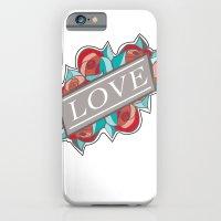 Love & Roses iPhone 6 Slim Case