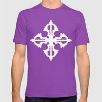 Bajra Mens Fitted Tee Ultraviolet SMALL