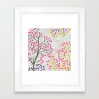 Tree 0f Love Framed Art Print