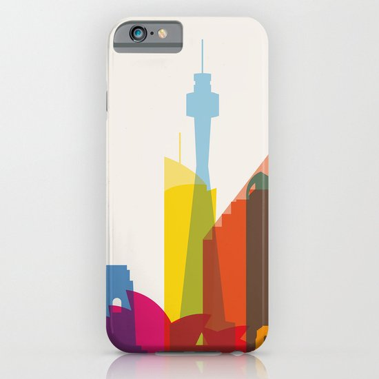 Shapes of Sydney. Accurate to scale iPhone & iPod Case