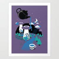 Late To The Party Art Print