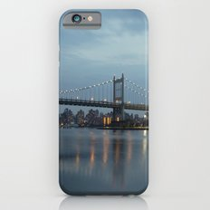 Triborough Bridge at Night. iPhone 6 Slim Case
