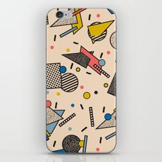 Memphis Inspired Pattern 7 iPhone & iPod Skin