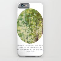 iPhone & iPod Case featuring Two Roads by Alicia Bock