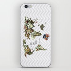 THE WORLD IS NOT ENOUGH iPhone & iPod Skin