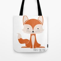 Fritz the Fox Tote Bag