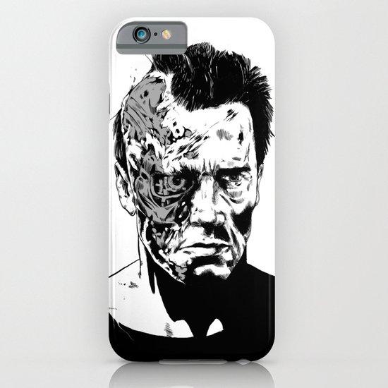 Terminator (b/w) iPhone & iPod Case