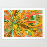Art Print featuring Orange by Danny Ivan