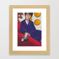 Fifty Shades Of Fried Eggs Framed Art Print