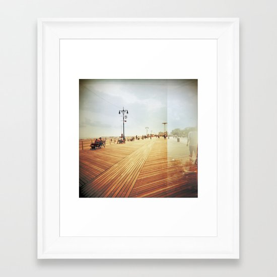 Coney Island #3 Framed Art Print