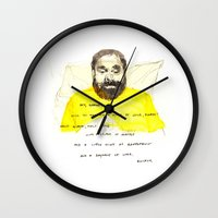 Quickly - Bored to Death Wall Clock