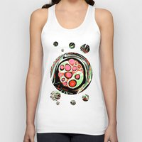Psychedelic Circle Unisex Tank Top