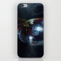 Iron Jaws iPhone & iPod Skin