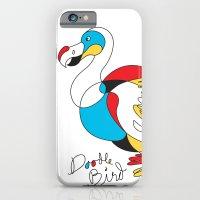 Doodle Bird iPhone 6 Slim Case