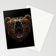 Floral Bear Stationery Cards