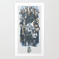 SOA Art Print