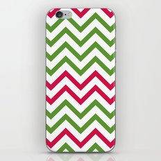 Graphic Holiday Pattern iPhone & iPod Skin