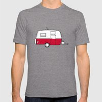 Boler Mens Fitted Tee Tri-Grey SMALL