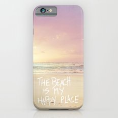 The Beach Is My Happy Pl… iPhone 6 Slim Case
