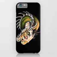 iPhone & iPod Case featuring Armored Dragon by Niki Smith