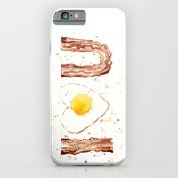 Bacon iPhone 6 Slim Case