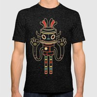 Tribe Gathering Mens Fitted Tee Tri-Black SMALL