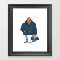The Sailor Framed Art Print