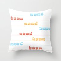 The Essential Patterns O… Throw Pillow