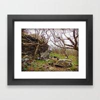 Room To Breathe Framed Art Print