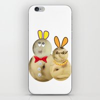 couple iPhone & iPod Skin