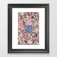 Inner Molecules Framed Art Print