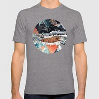Seconds Behind Mens Fitted Tee Tri-Grey SMALL