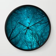 Wall Clock featuring Stars Can't Shine Withou… by Soaring Anchor Desig…