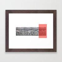 Four Sides Of A Box (iv) Framed Art Print