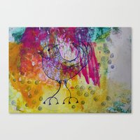 BiRD- JUSTART © Canvas Print