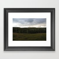 What's in your backyard? Framed Art Print