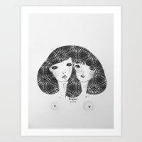 Patterns in my soul Art Print