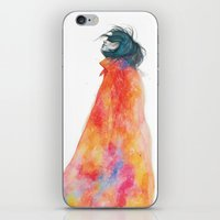 The Girl With The Starry… iPhone & iPod Skin